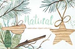Christmas watercolor clipart bundle Product Image 6