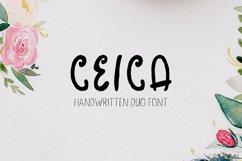 Ceica Handwritten Duo Font + Bonus Product Image 1