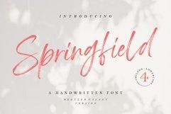 Springfield - Handwritten Font Product Image 1