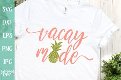Vacay Mode - A Summer SVG File for Crafters Product Image 1