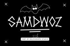 Samdwoz Graffiti Typeface Product Image 1