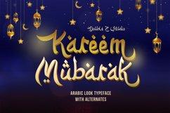 Kareem Mubarak Arabic Look Font Product Image 1