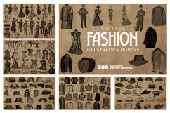 2200 Vintage Graphics Bundle Product Image 13