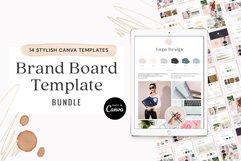 Brand Board Template Bundle Canva Product Image 1
