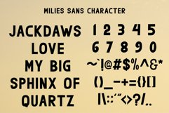milies | an elegant font duo Product Image 5
