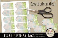 Christmas Tags - Printable It's Christmas Gift Tags Product Image 3