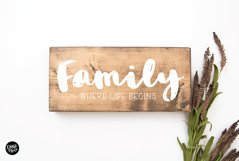 LILY a Bold Distressed Font Product Image 6
