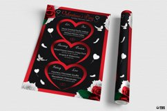 Valentines Day Menu Template V4 Product Image 3
