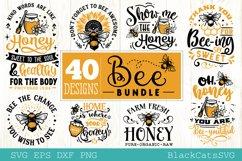 Bee Bundle SVG 40 designs Product Image 5