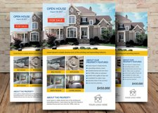 House For Sale Flyer Design Product Image 2