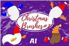 Christmas brushes#2 Product Image 1