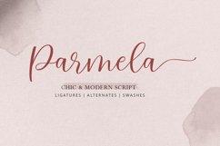 Parmela - Chic Modern Script Product Image 1