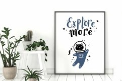 Explore more SVG, Space Astronaut Cat SVG, Cat SVG Product Image 2