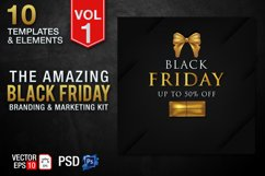 Black Friday Templates Vol 1 Product Image 1