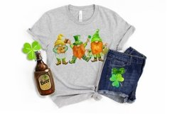 St Patricks Day Gnomes Sublimation designs downloads. Product Image 5