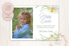 PSD Easter Photo Card Template - Single Sided - #3 Product Image 3