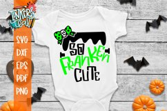 Franken Cute Halloween SVG Cut File Product Image 1