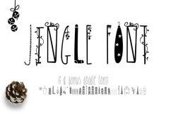 JINGLE FONT - a Christmas Typeface with Bonus DOODLES Product Image 1