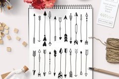Vector arrows graphics set including Photoshop Brushes Product Image 1