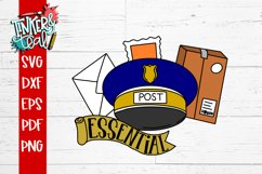 Essential Worker Mailman Post Office SVG Product Image 2