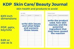 KDP Skincare, Beauty Journal Product Image 3