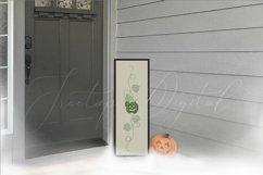 Halloween Vertical Sign Mockup Set, Tall Porch Sign Mock-up Product Image 4