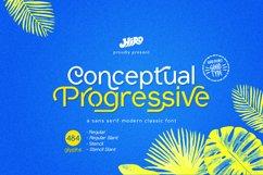 Conceptual Progressive Font Product Image 1