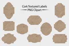Cork Textured Labels - CLIPART Product Image 1
