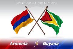 Armenia vs Guyana Two Flags Product Image 1