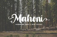 Mahoni - Script & Bold font Product Image 1