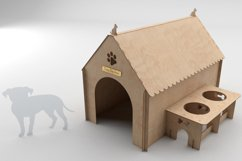 PUPPY HOUSE - laser cutting file Product Image 3