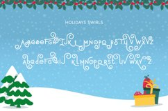 Holidays Font Duo Product Image 4