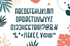 Sunday Beach - Cute Display Font Product Image 4