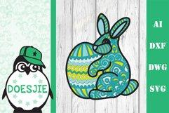 Layered Easter bundle 3d svg dxf Multi layer mandala easter Product Image 6
