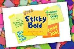 Sticky Bold Product Image 1