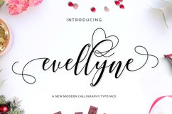 Evellyne Script Product Image 1