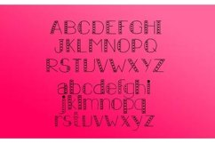 Carousel Lights Font Family, Three Fun Fonts Product Image 2