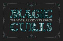 Magic Curls font Product Image 1
