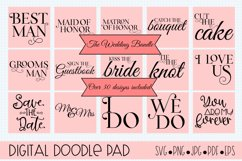 Wedding Bundle SVG files for Silhouette & Cricut Product Image 1
