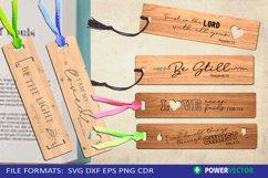 Bible Verse Bookmark Laser Cutting Engraving Pattern Bundle Product Image 1