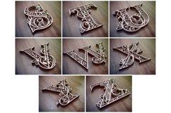 A-Z Layered Letters Bundle, Alphabet letters Bundle Product Image 5