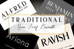 Traditional Mini Font Bundle Product Image 1