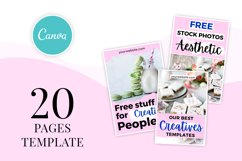 Pretty and Vibrant Pinterest Template Product Image 4