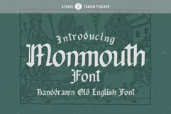 Monmouth Font - Handdrawn Product Image 1