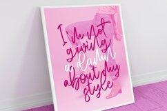 Web Font Motivate - Elegant Script Font Product Image 4