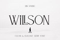 WILLSON - Clean Serif Product Image 1