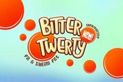 Bitter Twerty - kids font display Product Image 1