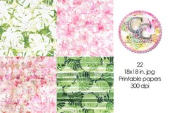 22 - 18x18 in. Exotic Summer Digital Papers Product Image 5