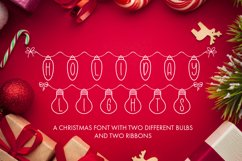 Holiday Lights - A Christmas Font Product Image 1