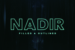 Nadir Typeface Product Image 1